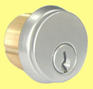 Cylinders - 897B Brass Mortise Cylinder