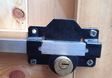 Double Lock Door Bolt
